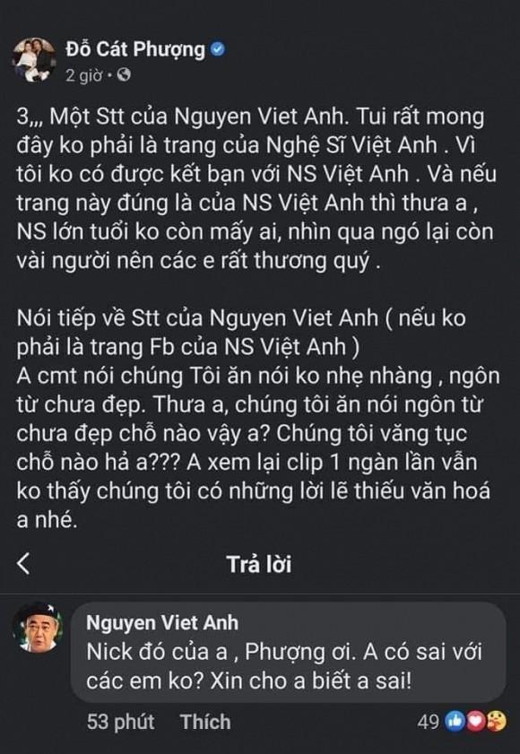 Cat Phuong phan ung gat ve loi nhac nho cua nghe si Viet Anh-Hinh-2