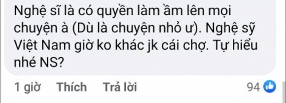 Cat Phuong phan ung gat ve loi nhac nho cua nghe si Viet Anh-Hinh-5