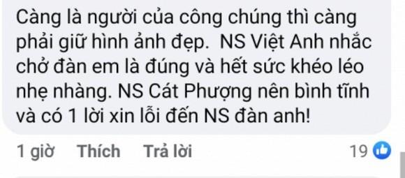 Cat Phuong phan ung gat ve loi nhac nho cua nghe si Viet Anh-Hinh-6