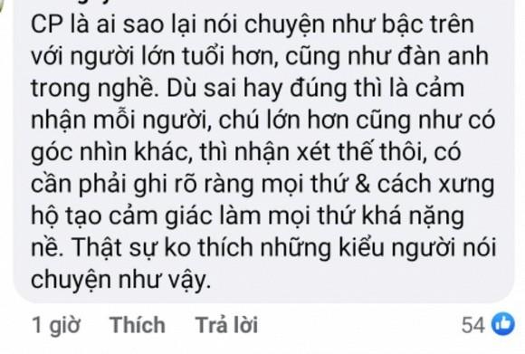 Cat Phuong phan ung gat ve loi nhac nho cua nghe si Viet Anh-Hinh-7