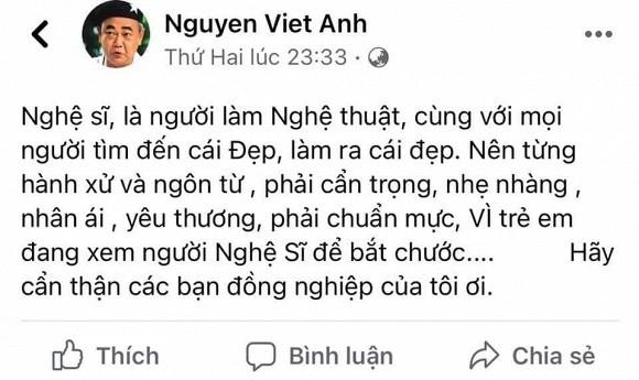 Cat Phuong phan ung gat ve loi nhac nho cua nghe si Viet Anh