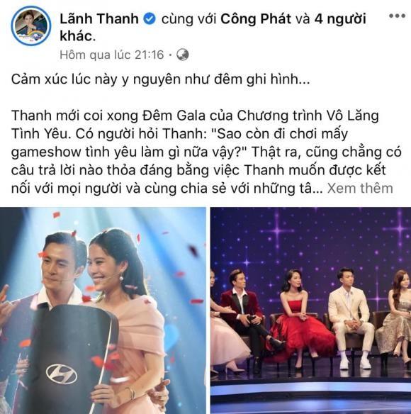 Lanh Thanh chinh thuc len tieng ve tinh cam danh cho Nam Em-Hinh-4