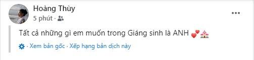 Hoang Thuy co tinh moi sau hon 2 nam chia tay ban trai Tay