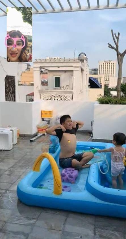 Truong Giang dung chuan chong nguoi ta o nha choi cung con gai-Hinh-2