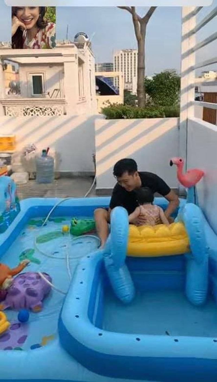 Truong Giang dung chuan chong nguoi ta o nha choi cung con gai-Hinh-4