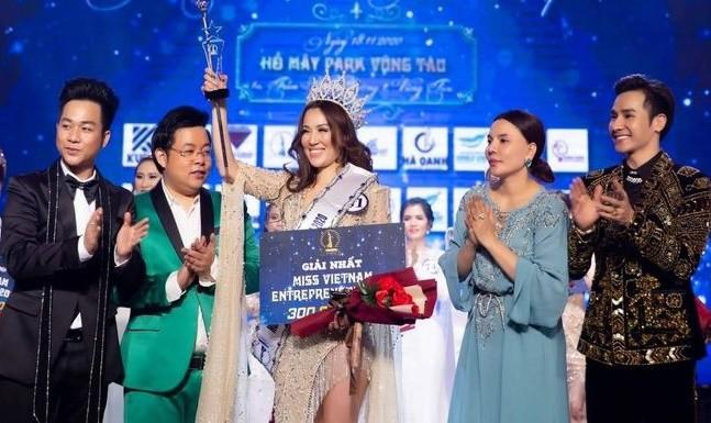 BTC Hoa hau Doanh nhan sac dep Viet Nam 2020 bi phat 90 trieu
