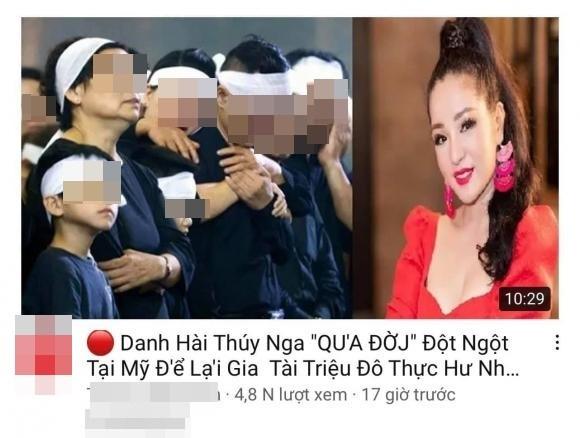 Thuy Nga bi don qua doi: