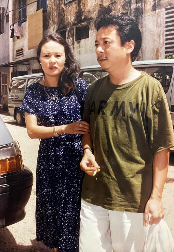 NSND Hoang Cuc khoc ngat… khi thao dieu van cho NSND Hoang Dung-Hinh-2