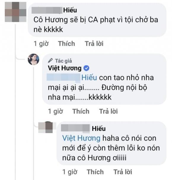 Vo chong Viet Huong gay tranh cai vi vi pham luat giao thong-Hinh-3