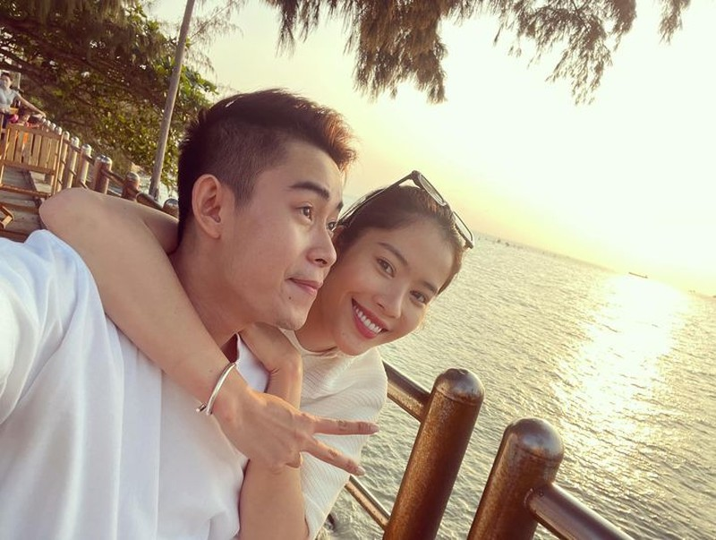 Thuy Tien khoe anh goi cam, khen ong xa Cong Vinh chup dep-Hinh-10