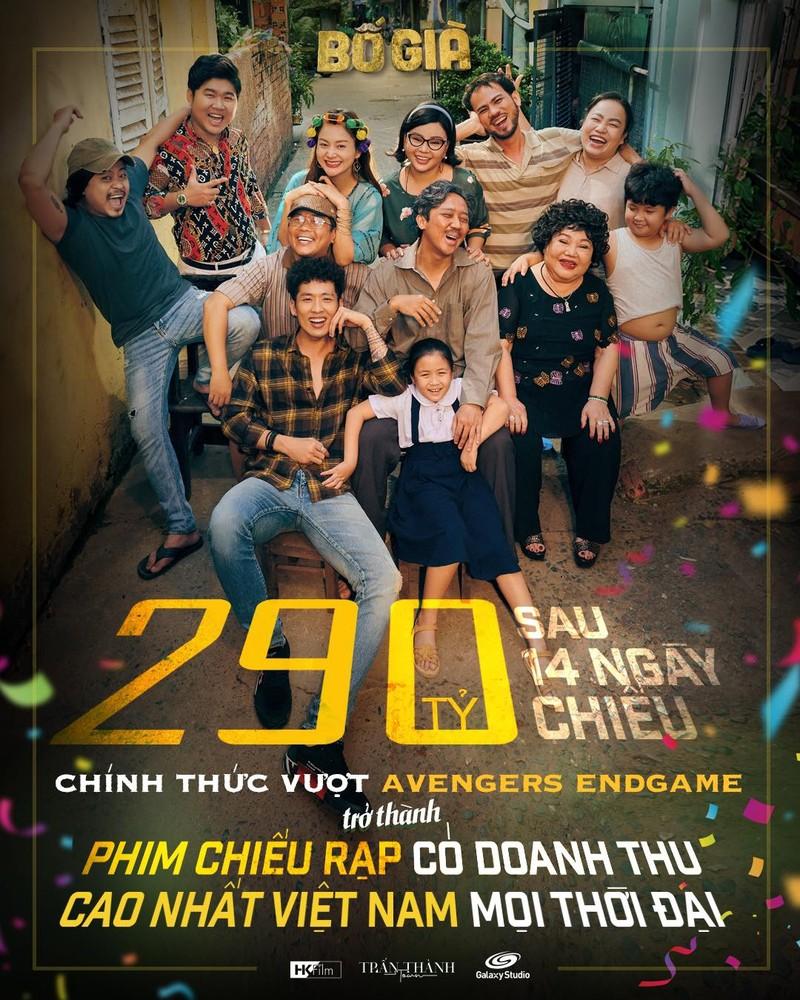 """""""Bo gia"""" cua Tran Thanh can moc 290 ty sau 14 ngay chieu rap"""