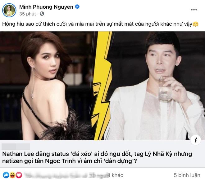 Nathan Lee chi dich danh Ngoc Trinh: