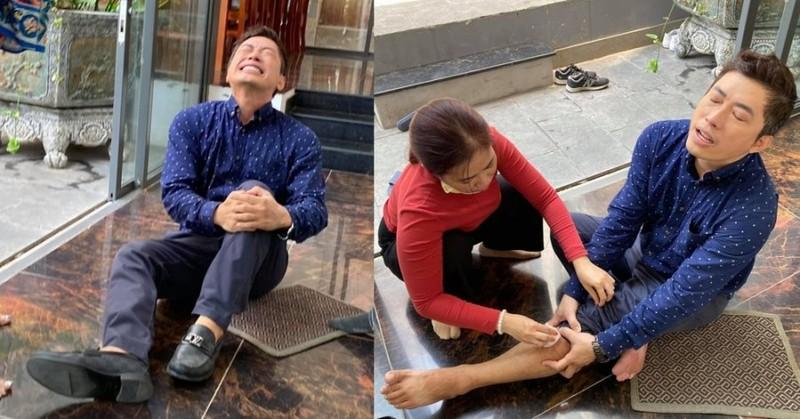 Kinh Quoc gap chan thuong nang khi quay phim giua on ao cua vo-Hinh-2
