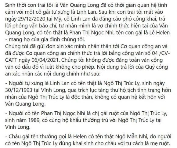 Ba me Van Quang Long tung bang chung Linh Lan gia mao nhan than-Hinh-2