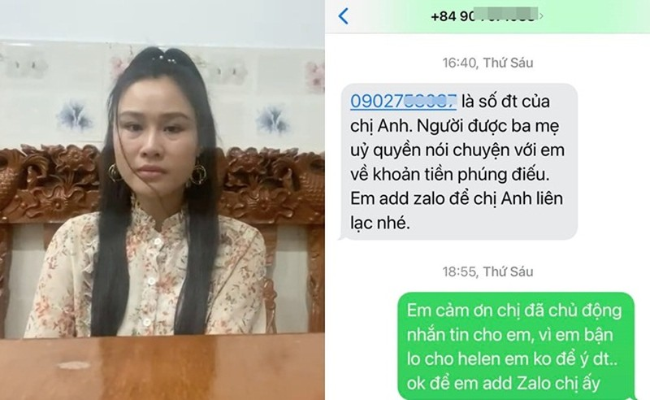 "Nguoi than Van Quang Long: ""Ai Van dang chiu oan vi Linh Lan"""
