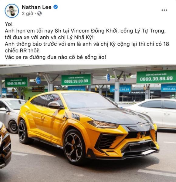 Ngoc Trinh vua tau xe sang 30 ty, Nathan Lee lap tuc thach dau-Hinh-3