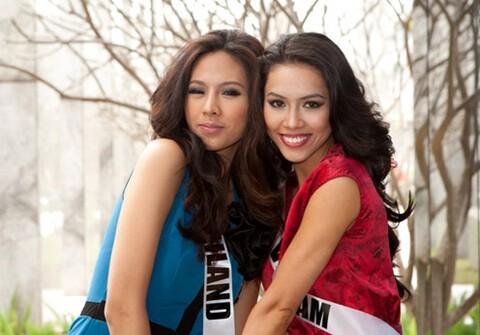 Nguoi dep choi xau Hoang My tai Miss Universe 2011 la ai?-Hinh-5