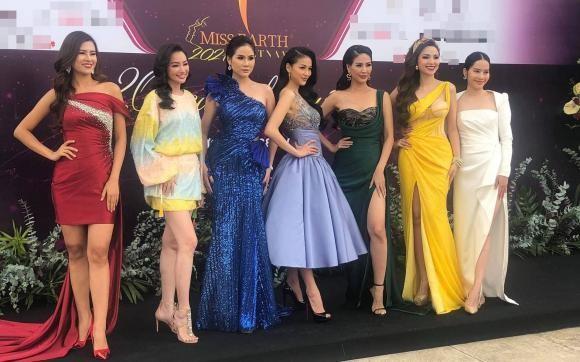 Nam Em can nguoi diu tren tham do hop bao Miss Earth Vietnam-Hinh-4