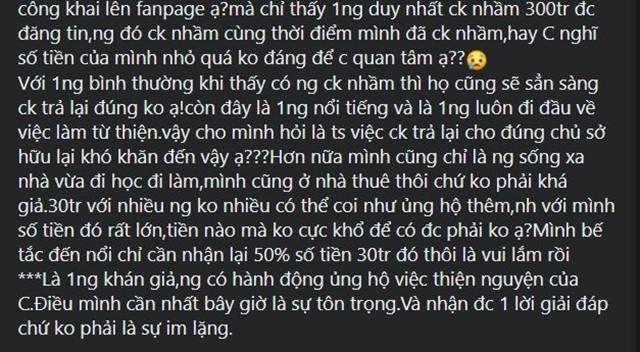 Thuy Tien bi boc khong tra gan 30 trieu chuyen khoan tu thien nham-Hinh-2