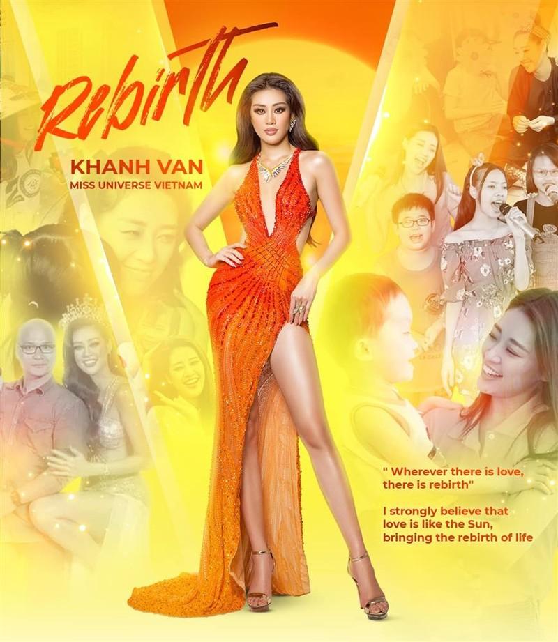 Dieu thu vi ve bo dam Khanh Van mac trong chung ket Miss Universe 2020-Hinh-2
