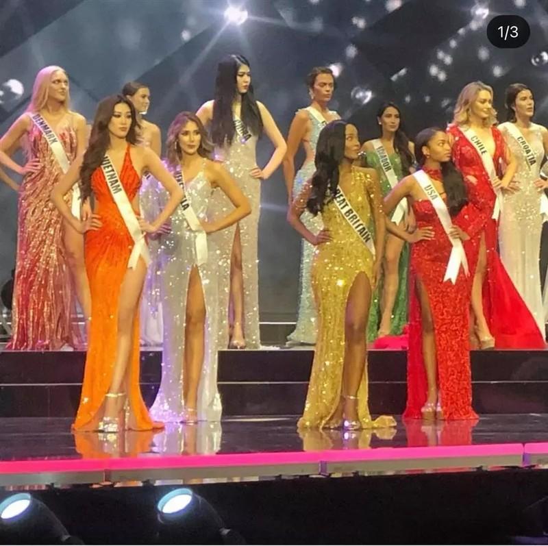 Dieu thu vi ve bo dam Khanh Van mac trong chung ket Miss Universe 2020