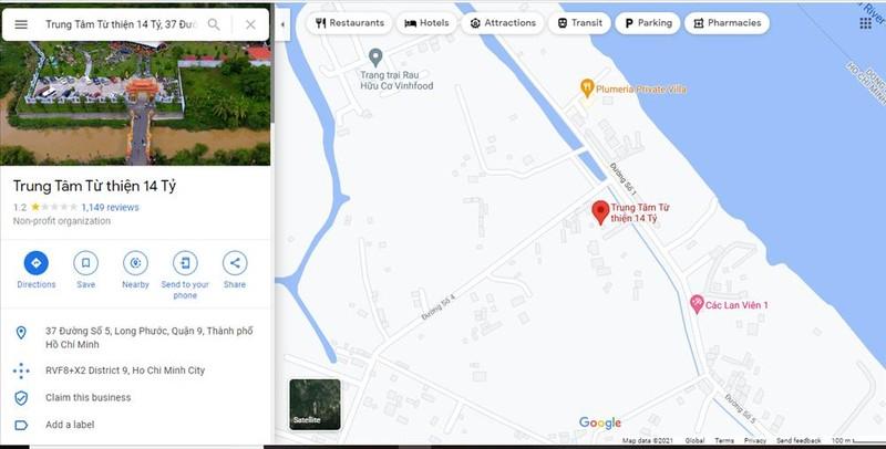 Su that Den tho To nghiep cua Hoai Linh bi Google Maps doi ten-Hinh-4
