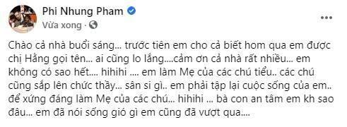Ba Phuong Hang lat tay