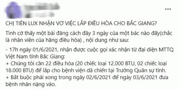 Thuy Tien len tieng khi bi to