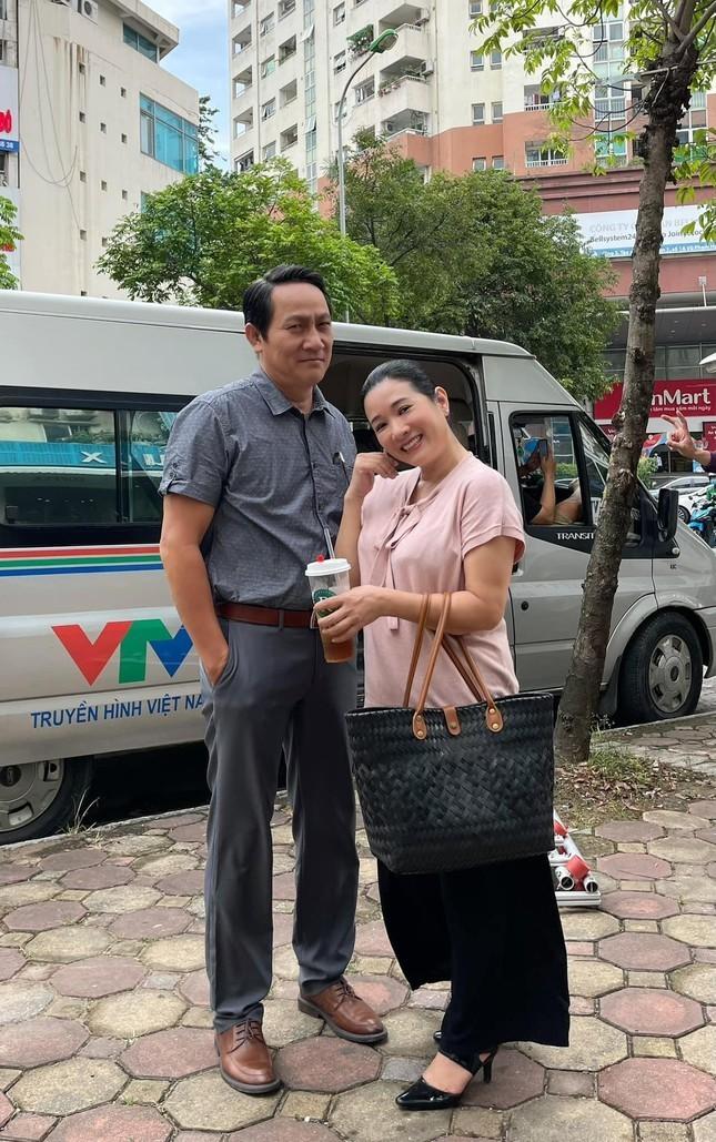 Thanh Thanh Hien dong phim canh sat hinh su cung Hoang Hai