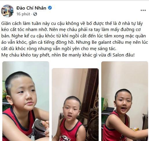 Chi Nhan bat ngo khen ngoi vo cu Thu Quynh