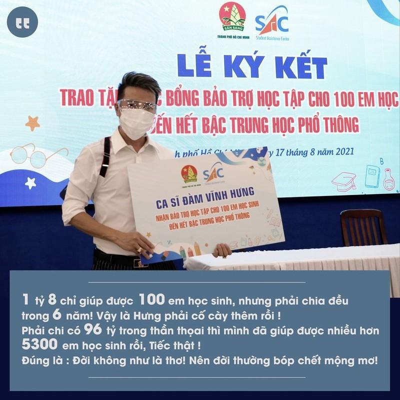 """Dam Vinh Hung gieu ba Phuong Hang """"doi khong nhu la tho"""""""