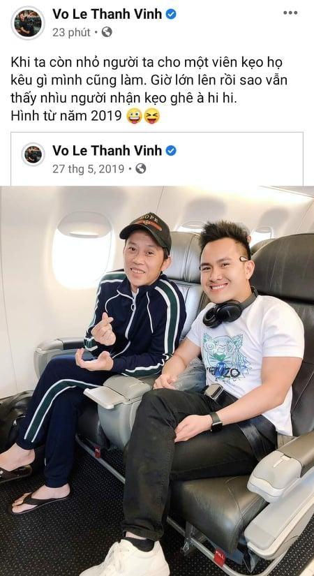 Con trai Hoai Linh dap tra, ngam phu nhan don bo ve My-Hinh-2