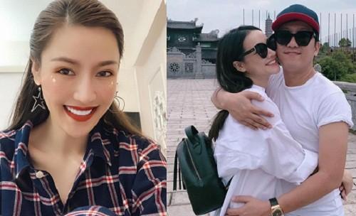 Que Van xoi drama voi Truong Giang, Nha Phuong phan ung sao?