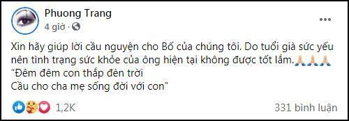 Em gai Hoai Linh tiet lo tinh hinh suc khoe cua bo-Hinh-2