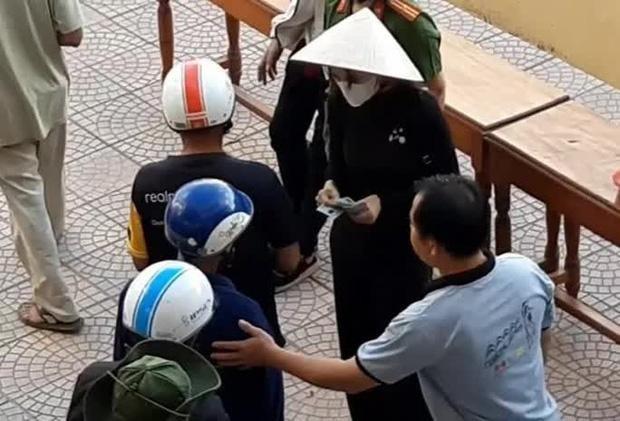 Thua Thien - Hue bao cao viec Thuy Tien tu thien len Bo Cong an