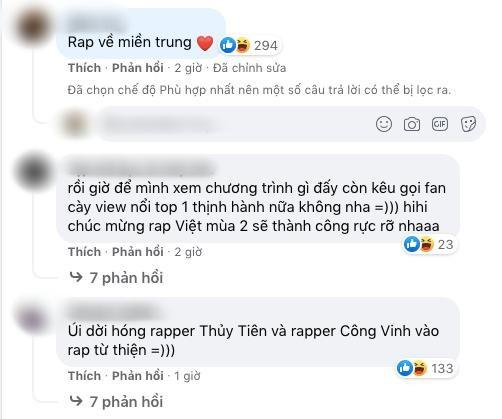 Tran Thanh tung anh Rap Viet, nhieu nguoi tranh thu hoi sao ke-Hinh-5