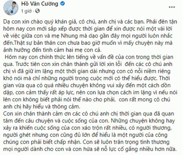 Kenh YouTube Ho Van Cuong tra lai cong ty kiem tien