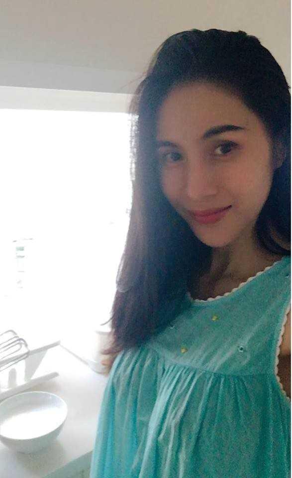 Thuy Tien bung lum lum nghi mang thai: Luc phu nhan, khi lang im-Hinh-7