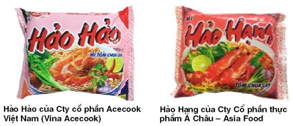 My Hao Hao va cuoc chien nhan hieu voi my Hao Hang
