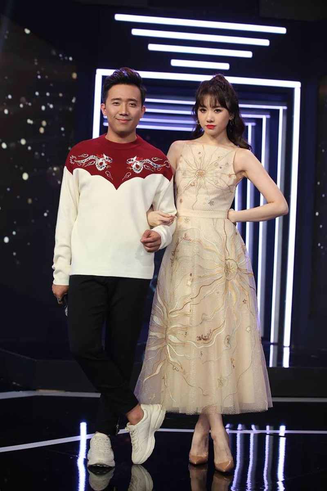 Lam vo Tran Thanh, gu thoi trang cua Hari Won