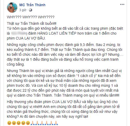 Thanh Thuy len tieng benh chong truoc nghi van choi xau Tran Thanh