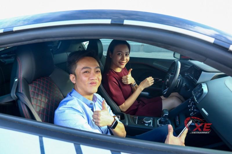 Yeu Cuong Dola, Dam Thu Trang cang dam me sieu xe va toc do