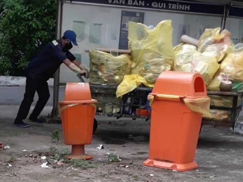 Rac thai Benh vien Pham Ngoc Thach bi… danh cap nguy hai the nao?