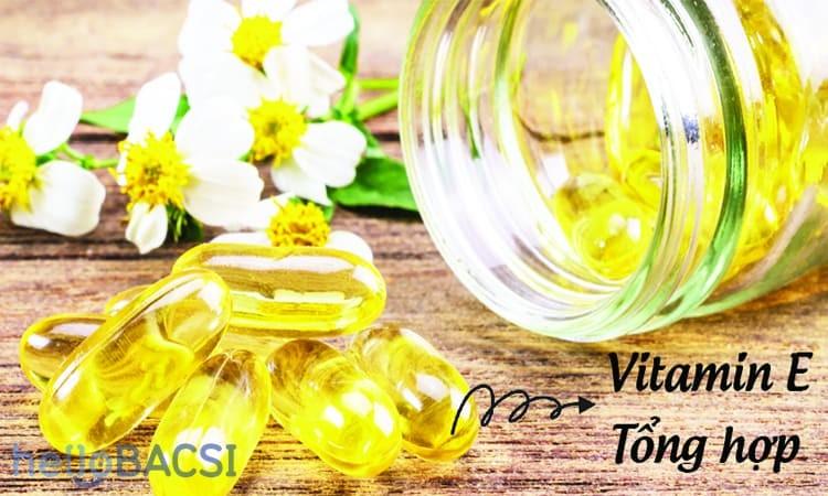 Cach lam trang da bang vitamin E cuc dinh it ai biet