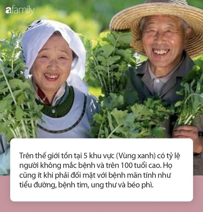 Thoi quen an uong giup ban luon tran day nang luong va song tho hon