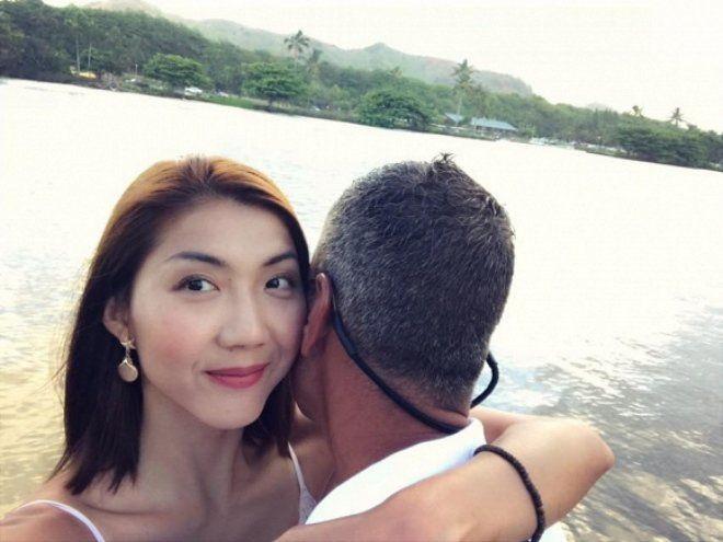 Duong tinh lan dan cua Ngoc Quyen: Ly hon chong cu chua lau da chia tay ban trai moi