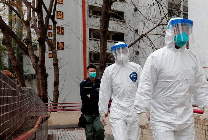 Hong Kong: Tim thay virus SARS-CoV-2 trong duong ong chung cu