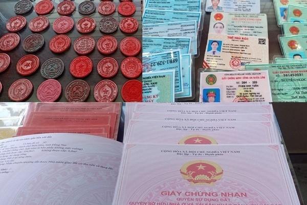 Bat bang nhom chuyen lam gia giay to, the cong an lien tinh-Hinh-2
