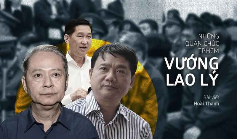 Tran Vinh Tuyen, Dinh La Thang va nhung quan chuc TP HCM vuong lao ly