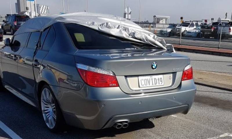 Giai ma bi an xe sang BMW mang bien so COVID 19-Hinh-2